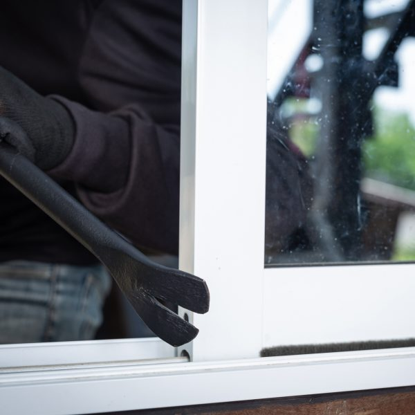 Thieves wear black hats, pry windows, steal things.